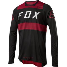 Fox Flexair Bike Jersey Longsleeve Men red/black